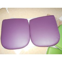 Replacement Cushions for Bubble Chair in Purple color and PU leather