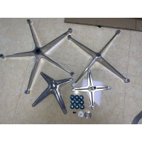 Replacement legs of Electroplating version for Eames lounge chair and ottoman