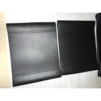 Repair Replacement Straps and Cushion for Wassily Kandinsky Chair in Black Italian Leather and Bonded Leather