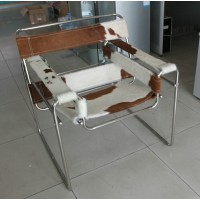 Repair Replacement Straps and Cushion for Wassily Kandinsky Chair in Pony Skin Leather