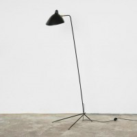 Serge Mouille Style One-Arm Floor Lamp