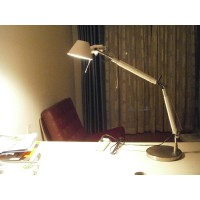 Artemide Style Tolomeo Desk or Table Lamp of Double arms in Large size