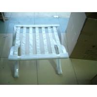 White barcelona ottoman frame