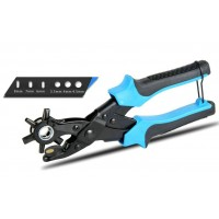 Advanced Leather Punch Plier Strap Hole Punch Tool 2 (3 Flat +3 Round Holes)