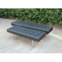 Black Barcelona Side Bench