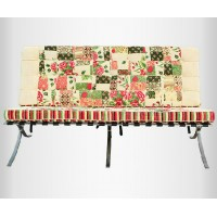 Fabric Barcelona Loveseat Cushions And Straps