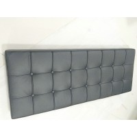 Black Barcelona Bench Cushion Of 132Cm Two Seaters Bench Cushion