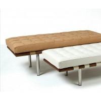 Barcelona Bench Cushion In Full Nappa Leather