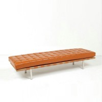 Barcelona Bench Cushion In Full Aniline Leather
