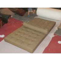 Barcelona Daybed Cushions And Straps In Pu Leather