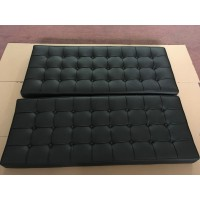 Customized Barcelona Loveseat Replacement Cushions In Larger Version