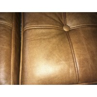Vintage Full Grain Leather Barcelona Chair Cushions
