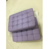 Purple Barcelona Chair Cushions In Pu Leather