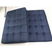 Black Fabric Barcelona Chair Cushions
