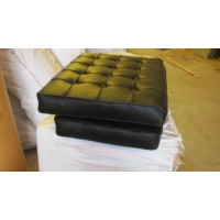Black Barcelona Chair Cushions