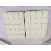 Off White Barcelona Chair Cushions
