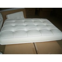 White Barcelona Chair Cushions