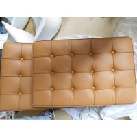 Dark Tan Barcelona Chair Cushions