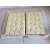 Cream Barcelona Chair Cushions