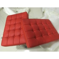 Red Barcelona Chair Cushions