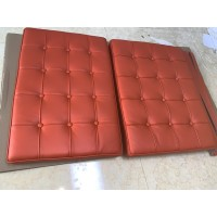 Orange Barcelona Chair Cushions