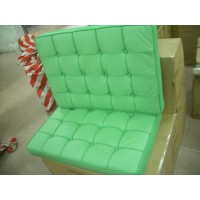 Green Barcelona Chair Cushions