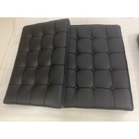 Black Barcelona Chair Cushions In Higher Grade