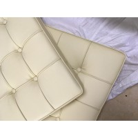 Cream Barcelona Chair Cushions in higher grade