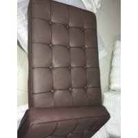 Chocolate Brown Barcelona Chair Cushions in higher grade