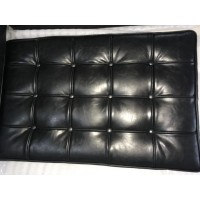Barcelona Chair Replacement Cushions and Straps in Dakota leather