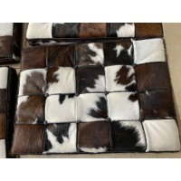 Tri-Color Pony Skin Leather Barcelona Chair Cushions