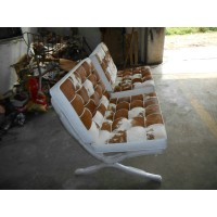 Pony Skin Leather Barcelona Chair Cushions