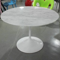 Tulip Marble Table of 110cm in diameter