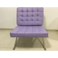 Barcelona Style Chair In PU Leather