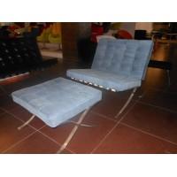 Ponyskin Barcelona Chair