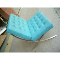 Blue Barcelona Chair