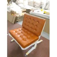 Barcelona Chair In Golden Tan