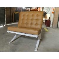 Dark Tan Barcelona Chair