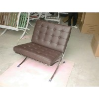 Chocolate Brown Barcelona Chair