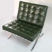 Barcelona Style Chair in Full Aniline Leather