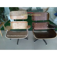 Eames style Lounge Chair and Ottoman in Tall version